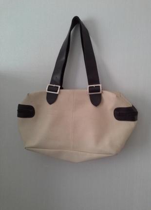 Krem rengi çanta 2