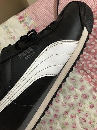 38 Beden siyah Renk puma spor ayakkabı