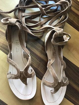 38 Beden Süet sandalet