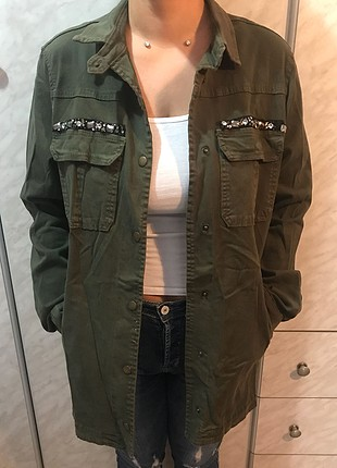 Cep taşlı Ceket