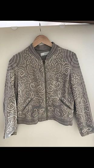 Zara işlemeli ceket