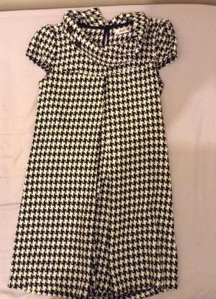 36 Beden Kışlık siyah beyaz elbise
