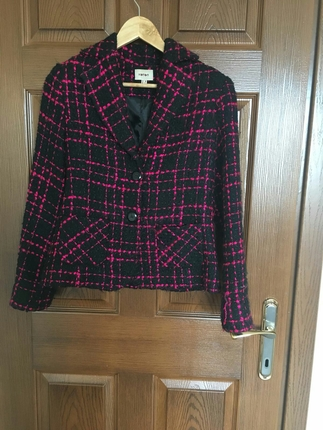 pembe siyah ceket