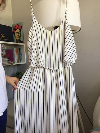 Uzun tiril elbise