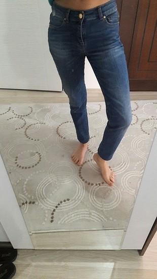 mango jean temiz bir deforme yok