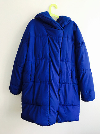 Oversized puffer mont