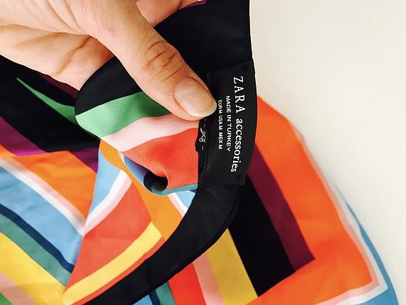 Zara Zara renkli fular