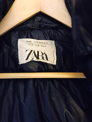 Zara Oversized şişme kolsuz mont