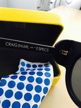 universal Beden siyah Renk Karl Lagerfeld&Le; Specs gözlük