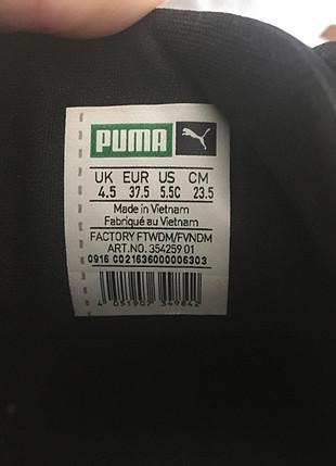 37 Beden siyah Renk Puma Roma model ayakkabı