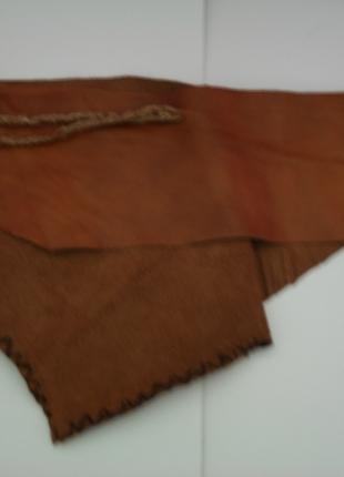 'Crazy leather waist bag