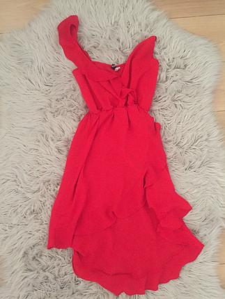 Kırmızı H&M elbise