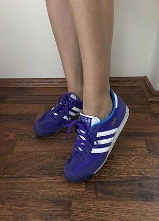 adidas mor spor ayakkabı