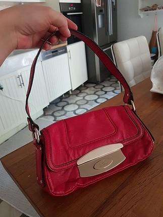 mango kısa sap vintage baget çanta