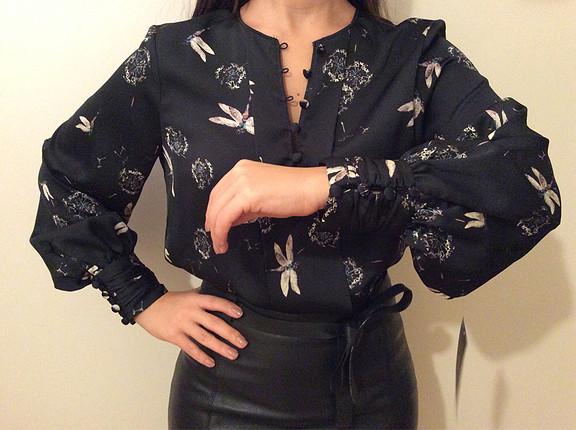 Zara Zara Yusufçuklu Bluz