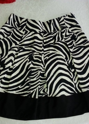 Koton Zebra Etek