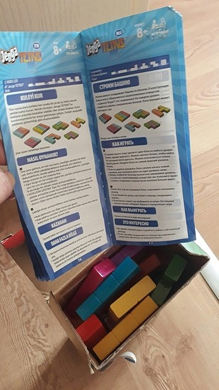 diğer Beden jenga tetris