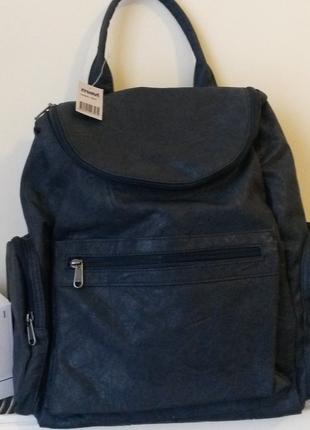 Etiketli Sıfır Mavi Jeans Deri Çanta Mavi Sırt Çantası %45 İndirimli ... 544a30af2db80