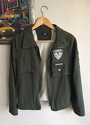 Asos Asker Yeşili Ceket