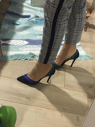 Zara Zara çok renkli stiletto