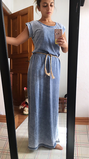 Yazlık uzun elbise