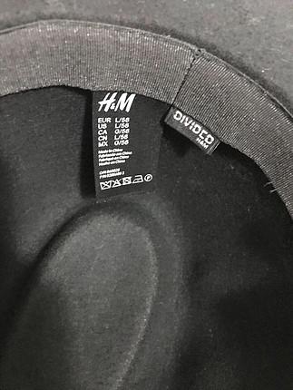 m Beden siyah Renk H&m şapka
