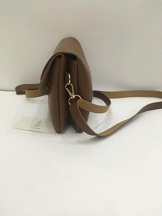 Zara Zara Çift Kapaklı Askılı Çanta