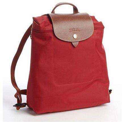 Kırmızı ve mavi sırt çantası