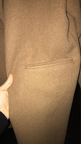 Oversize kaşe palto