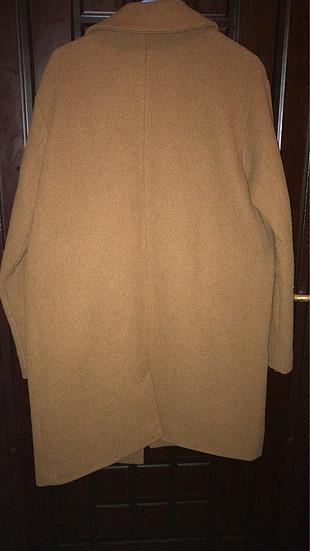 Pull and Bear Oversize kaşe palto