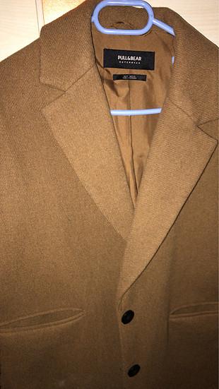 s Beden taba Renk Oversize kaşe palto