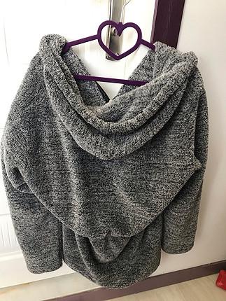 peluş kürk ceket