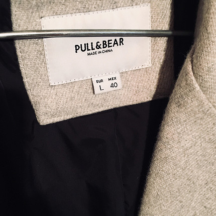 Pull and Bear Pull&Bear; | Large | Açık Renkli Kaban