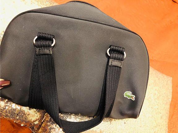 Orjinal lacoste kol çantası