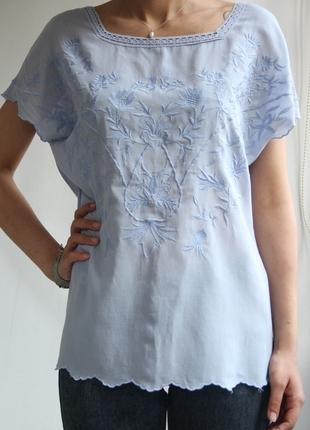 İşlemeli Bluz Massimo Dutti