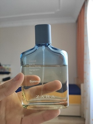 Zara Seoul summer erkek parfüm