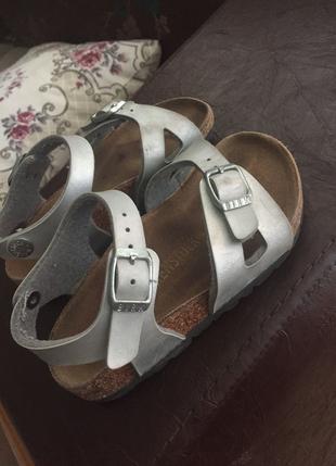 Orjinal Birkenstock Kız Çocuk Sandalet Birkenstock