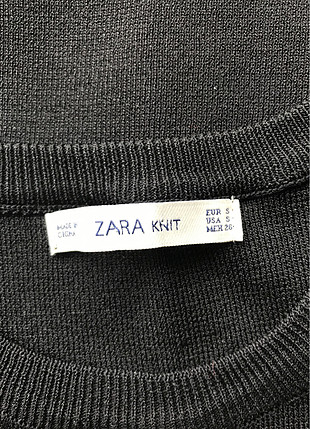 s Beden siyah Renk Kolları Tüllü Bluz