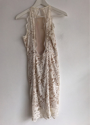 38 Beden Tül Detaylı Elbise
