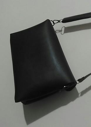 diğer Beden siyah Renk zara kol çantası