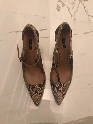 39 Beden taba Renk 1-2 kere giyilmiş temiz ayakkabı