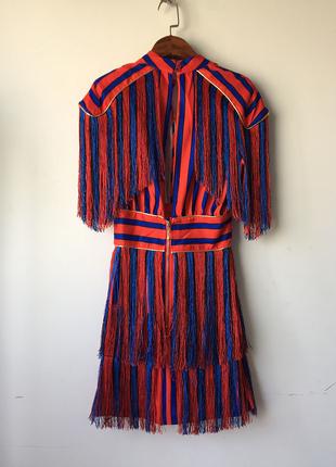 Yeni Trend Püsküllü Elbise