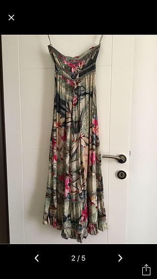 Uzun yazlık elbise