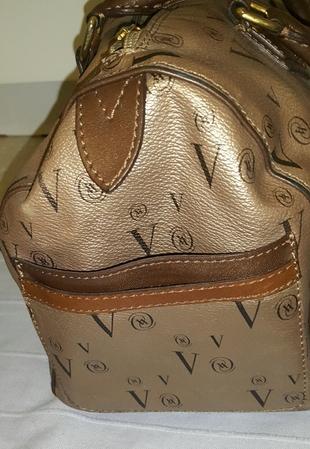 m Beden altın Renk orjinal vakko el çantası