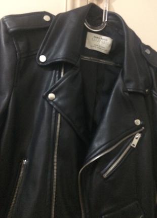 Zara marka deri ceket