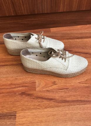 Hasır Topuk Ayakkabı Hotiç