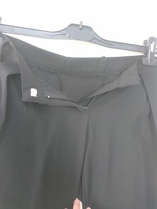 Diğer Siyah Kumaş Pantolon