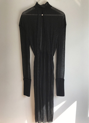 Diğer Siyah Tül Elbise
