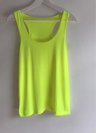 Diğer Neon yeşili t-shirt