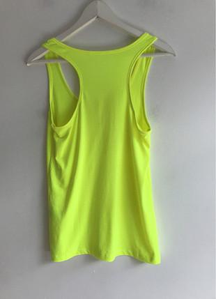 xl Beden Neon yeşili t-shirt